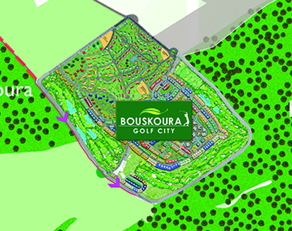 Bouskoura Golf City - plan2